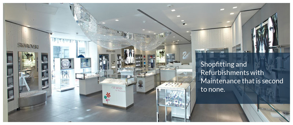 Swarovski Shopfitting